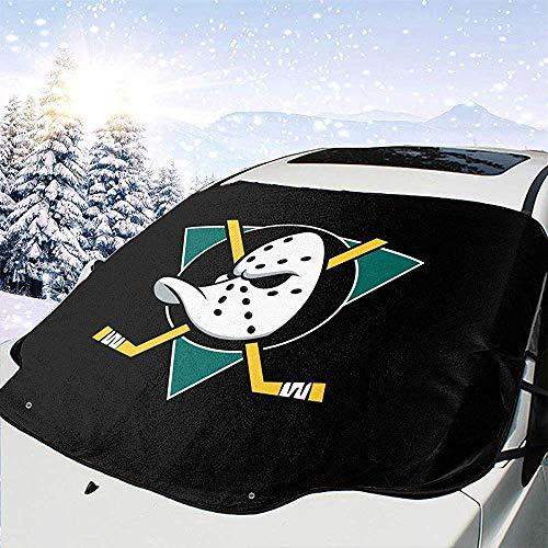 Hiram Cotton Car Sunshade Universal Fit Windschutzscheibe Sonnenschutz Für Autos-Auto Windschutzscheibe Abdeckung Für Schnee Und EIS Frost-Schneeräumung Windschutzscheibe Abdeckung Mighty Ducks