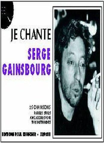 Partition : Je chante Gainsbourg