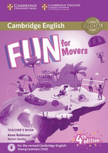 Fun for Movers Teacher's Book with Downloadable Audio [Lingua inglese]