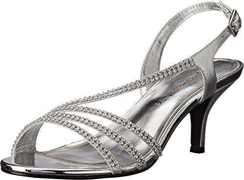 Caparros Women's Bethany Silver Metallic Shoe