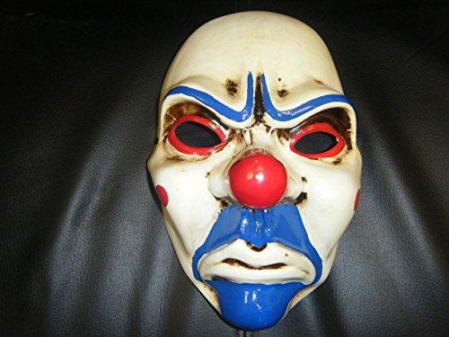 WRESTLING MASKS UK Da de Pago Banco Ladrona Joker The Heist 2 Mscara Disfraz Lucha Libre Adulto Cosplay