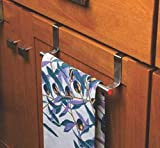 RIOMAX Stainless Steel Towel Holder Cabinet Hanger Over Door Kitchen Hook Drawer Storage (Small, 23 cm)