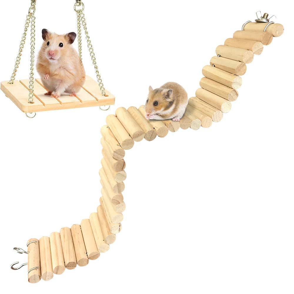 Hamsters Platform Accessories Suspension Flexible