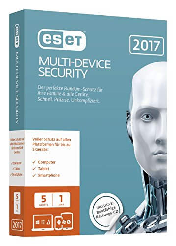 Preisvergleich Produktbild ESET Multi-Device Security 2017 Edition 5 User