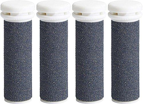 My RollersTM Minerale Reservewielen (Blauw) voor Emjoi Micro Pedi in 4-pack Super Grob Zeer grof