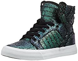 Skytop High Ankle Shoe With Sequins