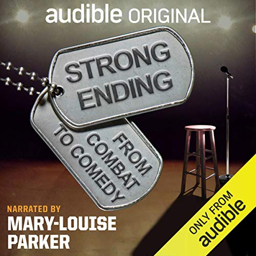 Strong Ending audiobook cover art