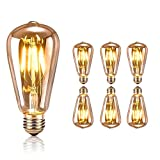 tronisky Retro Edison Bombillas, Vintage LED Bombillas de...