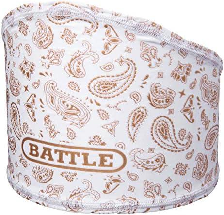 Battle Sports Science Bandana Skull Wrap White Gold White Gold OS product image