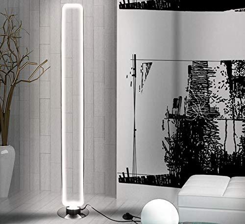 Dimmbar Warmweiß 140cm LED Stehleuchte Standlampe StehLampe Standleuchte Bodenlampe 50W mit Fernbedienung Lewima Diffus