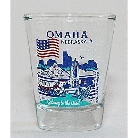 BADLANDS SOUTH DAKOTA NATIONAL PARK SERIES COLLECTION GLASS SHOTGLASS