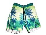Leo Corsetteria Costume Pantaloncini Mare Piscina Body Board Bermuda Uomo Surf 3 Tasche CJM08 Tg.L (34 USA - 50 IT)