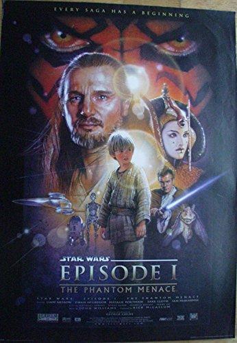 Poster STAR WARS Episode I Filmplakat Riesenformat 98 x 137 cm Giant-Poster XXL-Poster