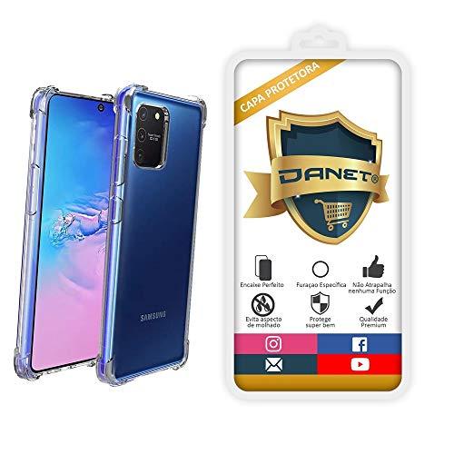 Capa Protetora Para Samsung Galaxy S10 Lite Tela 6.7 Polegadas Capinha Case Transparente Air Anti Impacto Proteção De Silicone Flexível - Danet