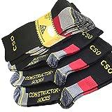 Herren CSO Constructor Socke Größe 43-46, Farbe schwarz