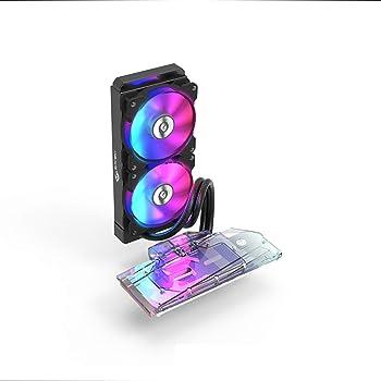 BykskiオールインワンDIY水冷キット For AMD/Intel/GPU 5700XT/5700/2080ti/2080/2070/2060 (2080Ti/2080/2070/2060 All-in-one kit)
