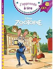 Zootopie Ce1 (J'Apprends à Lire Avec Les Grands Classiques Disney)