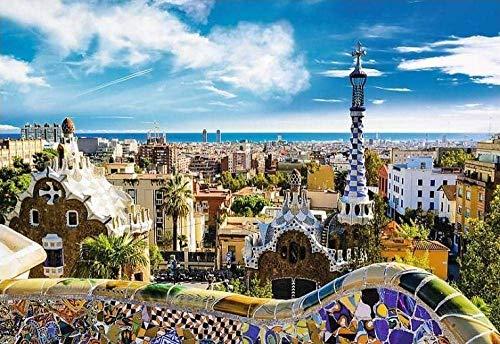 Puzzle 1000 Piezas rk Guell Barcelona Adultos Rompecabezas Infantiles Adolescentes