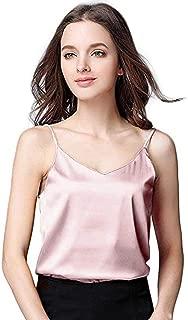 Blouse for Womens,DaySeventh Women Sexy Silk Ladies Camisole Bottom Blouse Shirt Soft Satin Tank Top Crop
