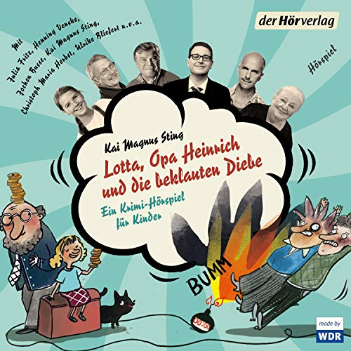 Lotta, Opa Heinrich und die beklauten Diebe  By  cover art