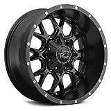 Dropstars 645B Wheel with Black Finish (20x10'/6x5.5', -19mm Offset)