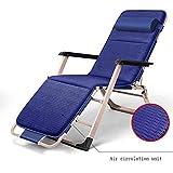 Lounge chair Silla de Oficina, Silla Mecedora tapizada sin Peso, Plegable Siesta...