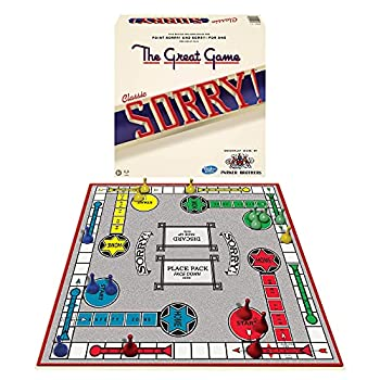 Winning Moves Games Sorry Classic Edition Board Game Multicolor