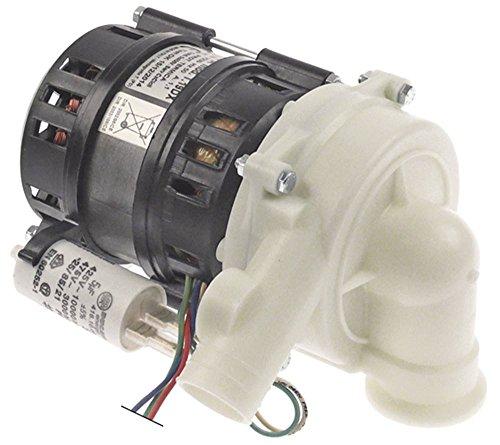 Olympia T.19DX Pumpe für Spülmaschine Dihr DS35, DS37, Kromo DUPLA-35, DUPLA-37, Bartscher TF350 0,19kW 230V Eingang 1'IG 50Hz