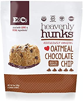 E&C s Snacks Heavenly Hunks Cookies - Oatmeal Chocolate Chip  6oz bag  - 6 Pack