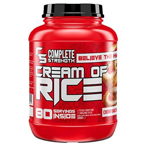 Complete Strength - Cream of Rice 2kg - 80 Servings Apple