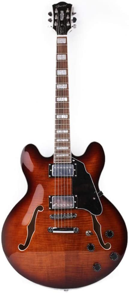 LYNLYN Guitars Jazz Hollow F Maple Electric Max 75% OFF Guitar Acoustic Hole Cheap bargain