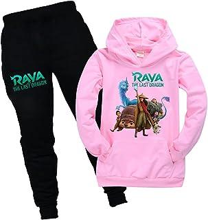 Raya and The Last Dragon Game - Pantalones deportivos unisex para niños