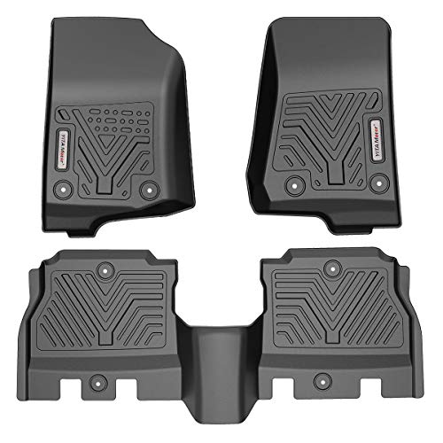 YITAMOTOR Floor Mats Compatible with Jeep...