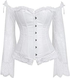 LEKODE Women T-Shirts Fashion Printed Punk Long Sleeve Tops