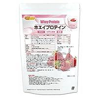 ホエイプロテインW80 ストロベリー風味 500g 11種類のビタミン配合 [06] NICHIGA(ニチガ)