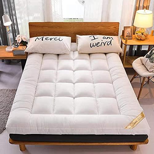 XUANDONG Colchón Plegable, colchón de Tatami, colchón Plegable de Dormitorio estudiantil, colchón Plegable, Soft Grueso Software multifunción Camping Camping @ E_90 * 200 cm