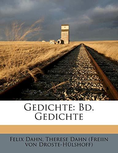 Dahn, F: Gedichte: Bd. Gedichte