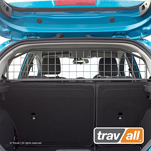 Travall Guard Compatible with Ford Fiesta Hatchback and ST (2008-2017) TDG1215 - Rattle-Free Steel Vehicle Specific Pet Barrier