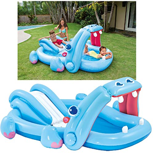 Intex Hippo Play Center - Kinder Aufstellpool - Planschbecken - 221 x...