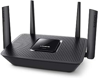 Linksys EA8300 Max-Stream AC2200 MU-MIMO Tri-Band WiFi Router (4 Gigabit Ethernet Ports, 4K UHD Streaming & Gaming)