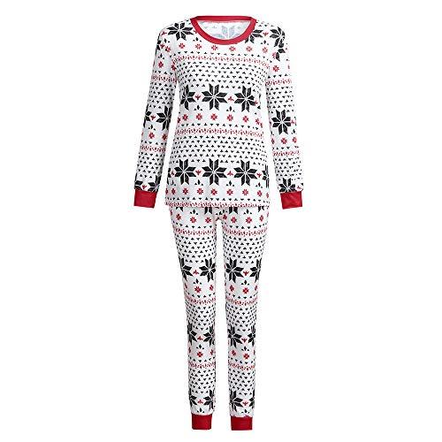 Vrouw Kerstmis familie kinderen/mama/papa familie sneeuwvlok pyjama/pyjama patroon pyjama set - heren dames kinderen baby Kerstmis pyjama/eendelig nachtkleding