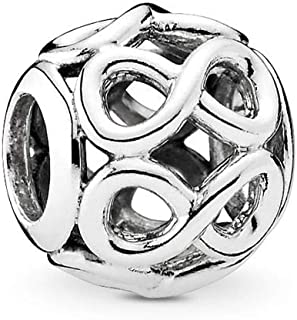 PANDORA Infinite Shine Charm, Sterling Silver, One Size