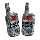 VECTORCOM TRD-R8 Walkie Talkies Kids Two Way Radio Long Range Kids Walkie Talkie Boys Girls 22 Channel 3 Mile, Green