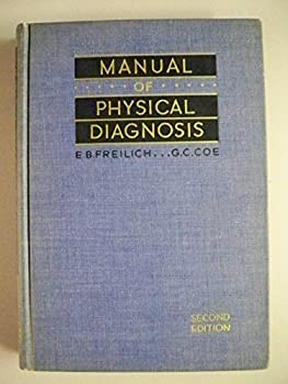 Hardcover Manual of Physical Diagnosis Book