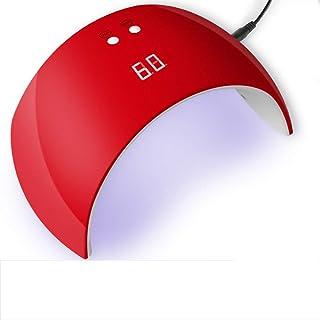SHJMANPA Esmalte De Uñas Lámpara De Curado De, Esmalte De Uñas Inteligente Dispositivo De Pulido Y Curado De Doble Fuente De Luz para Cinta De Sensor De Esmalte De Uñas