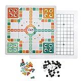 Eosnow Juegos de Mesa 2 en 1, coordinación Ojo-Mano de ajedrez Volador para niños para Juegos interactivos Familiares