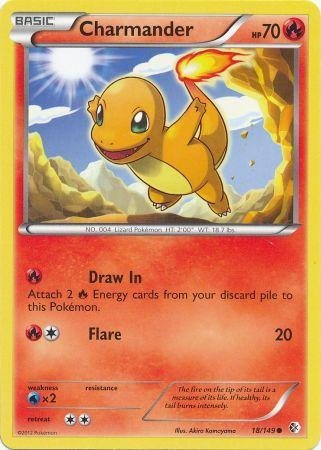 Pokemon - Charmander (18/149) - BW - Boundaries Crossed