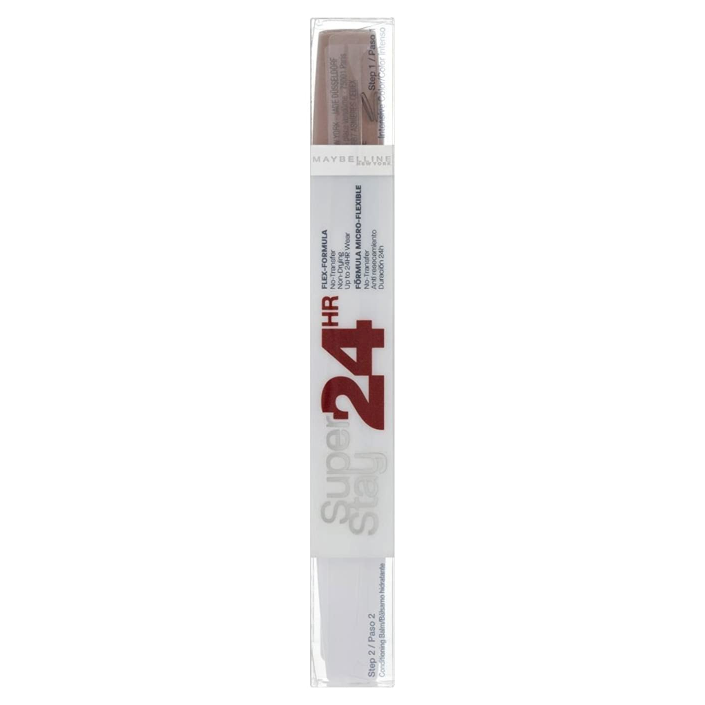 ブッシュ気付く契約するMaybelline Superstay 24 Hour Lipcolour - 615 Soft Taupe メイベリンsuperstay 24時間lipcolour - 615ソフトトープ [並行輸入品]