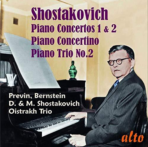 Schostakowitsch: Klavierkonzerte 1 & 2; Klaviertrio Nr. 2 u.a.