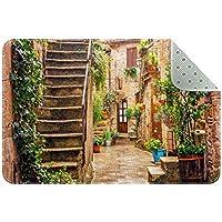 エリアラグ軽量 イタリアで最も美しい村 フロアマットソフトカーペットチホームリビングダイニングルームベッドルーム